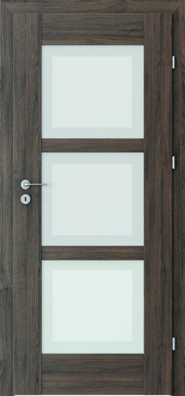 durys internetu, PortaInspire, laminuotos, stiklo intarpas