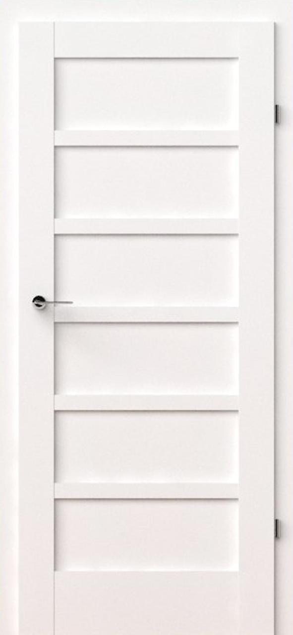 vidaus durys, verte a0, baltos, dažytos