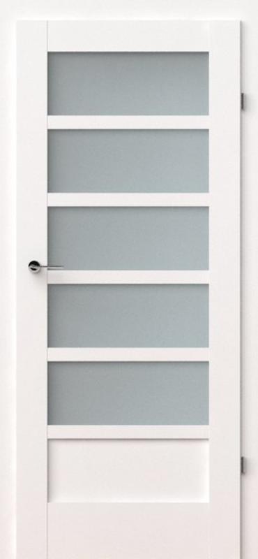 vidaus durys, verte a5, baltos, dažytos