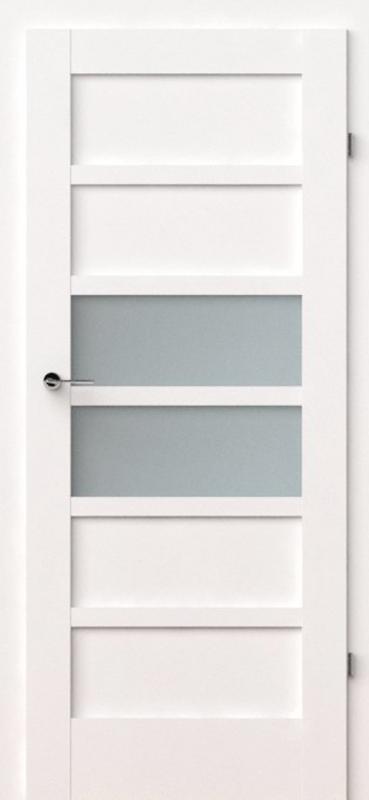 vidaus durys, verte a7, baltos, dažytos