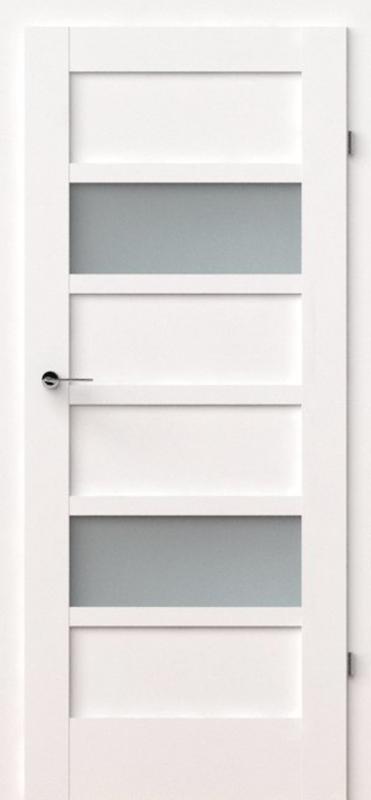 vidaus durys, verte a8, baltos, dažytos