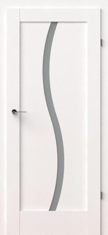 vidaus durys, verte e1, baltos, dažytos