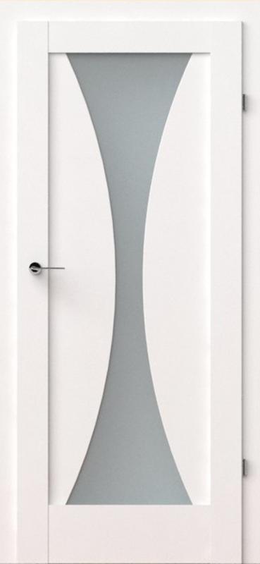 vidaus durys, verte e2, baltos, dažytos