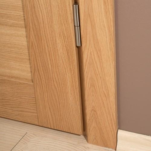 durų kampas, medinis