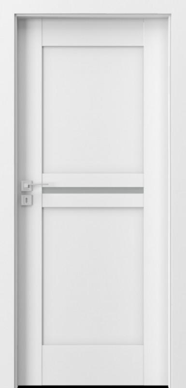 vidaus durys, Porta KONCEPT B1, baltos, laminuotos