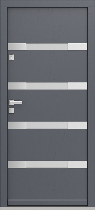 Lauko durys ECOPOLAR A.4