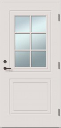 durys internetu, Sofia, stiklo intarpas