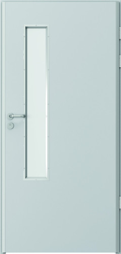 atsparios mechaniniams pažeidimams, specialios durys, stiklo intarpas, Enduro