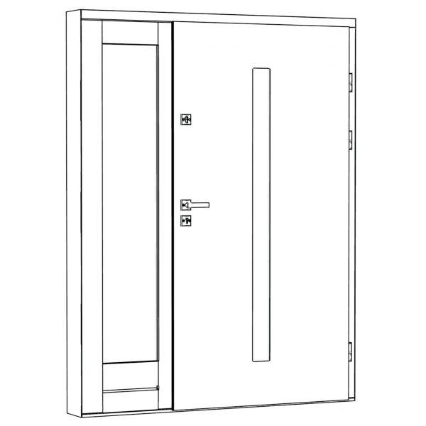 Lauko durys EcoPolIar A.3