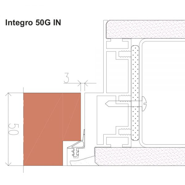 Nematomos durys Integro 50