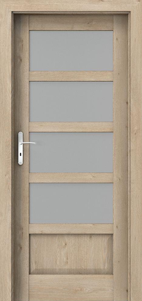 Laminuotos durys Porta Balance C.4