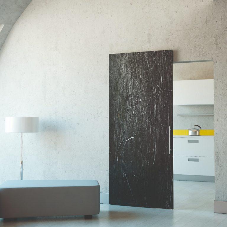 Ofise puikiai prisitaikę nematomos durys
